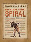 Manly Skills IV Affiche par Stephanie Marrott