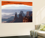 View of Mesa Arch at Sunrise, Canyonlands National Park, Utah, USA Wall Mural by Scott T. Smith