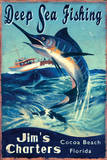 Deep Sea Fishing Posters