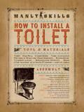 Manly Skills I Kunstdrucke von Stephanie Marrott