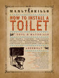 Manly Skills I Poster by Stephanie Marrott