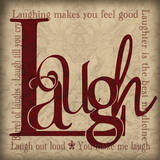 Laugh & Other Sentiments Prints by Lisa Wolk