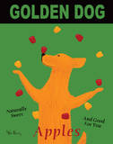 Golden Dog Posters by Ken Bailey