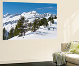 Sunrise on Mt Reichenspitze, Mt Gabler, National Park Hohe Tauern, Austria Wall Mural by Martin Zwick