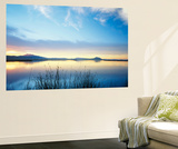 View of Bear River at Dusk, Cache Valley, Great Basin, Utah, USA Wall Mural by Scott T. Smith