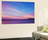 Yellowstone Lake at Sunset in Autumn, Yellowstone National Park, Wyoming, USA Wall Mural by Walter Bibikow