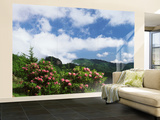 Catawba Rhododendron, Pisgah National Forest, North Carolina, USA Wall Mural – Large by Adam Jones