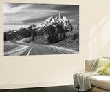 Teton Park Road and Teton Range, Grand Teton National Park, Wyoming, USA Posters af Adam Jones