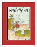 The New Yorker Cover - January 30, 2012 Prints by George Booth