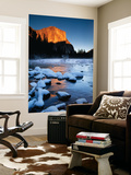 El Capitan and Merced River, Yosemite National Park, California, USA Wall Mural by Christopher Bettencourt