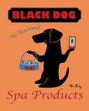 Black Dog Spa Prints by Ken Bailey