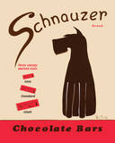 Schnauzer Bars Prints by Ken Bailey