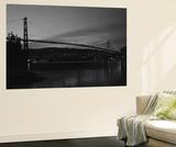 Lions Gate Bridge, Burrard Inlet, Vancouver, British Columbia Plakater af Paul Souders