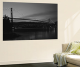 Lions Gate Bridge, Burrard Inlet, Vancouver, British Columbia Prints by Paul Souders