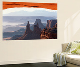 View of Mesa Arch at Sunrise, Canyonlands National Park, Utah, USA Prints by Scott T. Smith