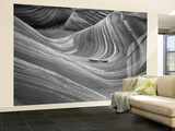 Wave, Coyote Buttes Area, Vermilion Cliffs Wilderness Area, Paria Canyon, Arizona, USA Wall Mural – Large by Adam Jones
