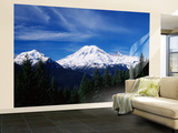 View of Mt Rainier National Park, Washington, USA Wall Mural – Large by Paul Souders