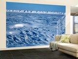 Wind Blown Snowdrift, Arctic Coastal Plain, Alaska, USA Wall Mural – Large by Hugh Rose