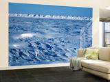 Wind Blown Snowdrift, Arctic Coastal Plain, Alaska, USA Wall Mural – Large by Hugh Rose