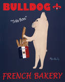 Bulldog French Bakery Prints by Ken Bailey