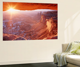 View of Mesa Arch at Sunrise, Canyonlands National Park, Utah, USA Posters af Scott T. Smith