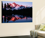Mt Shuksan with Baker Lake, North Cascades National Park, Washington, USA Poster af Adam Jones