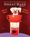 Great Dane Brand Plakaty autor Ken Bailey