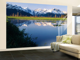 Turnagain Arm, View of Chugach Mountains, Alaska, USA Wall Mural – Large by Stuart Westmorland