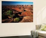 View of Gooseneck and Dead Horse Point, Dead Horse Point State Park, Utah, USA Poster af Adam Jones