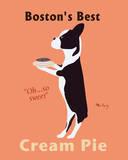 Najlepsze ciasto z kremem w Bostonie (Boston's Best Cream Pie) Reprodukcje autor Ken Bailey