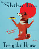 Shiba Inu Teriyaki House Prints by Ken Bailey