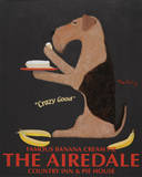 Airedale Famous Banana Cream Pie Posters by Ken Bailey