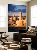 View of Marseille Cathedral De La Major and Fort St. Jean, France Posters by David Barnes