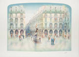 Place Jeanne d'Arc Collectable Print by Rolf Rafflewski