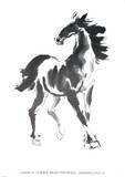 Horse Plakat av Walasse Ting