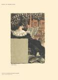 Librairie Romantique Collectable Print by Eugene Grasset