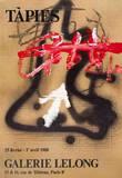 Galerie Lelong Prints by Antoni Tapies