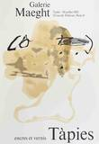 Encres et Vernis Art by Antoni Tapies