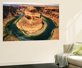 Horseshoe Bend, Colorado River, Glen Canyon National Recreation Area, Arizona, USA Art by Adam Jones