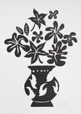 Vase IV Noir Poster von Marco Del Re