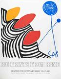 Big Prints from Rome Siebdruck von Alexander Calder