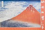Fuji in Clear Weather Posters by Katsushika Hokusai