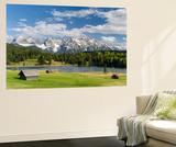 Karwendel Mountain Range, Mittenwald, Lake Wagenbruch, Bavaria Prints by Martin Zwick
