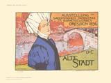 Dresden, Die Alte Stadt Collectable Print by Otto Fischer