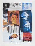 Retroactive II Collectable Print by Robert Rauschenberg