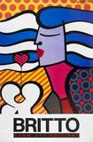 Love is not Easy Collectable Print by Romero Britto