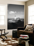 View of Lighthouse, Cape Elizabeth, Portland, Maine, USA Print by Walter Bibikow