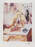 The Businessman Samlertryk af Salvador Dalí