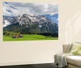 Karwendel Mountain Range, Mittenwald, Spring, Bavaria Posters af Martin Zwick
