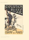 Exposition Russe Collectable Print by Caran D'Ache